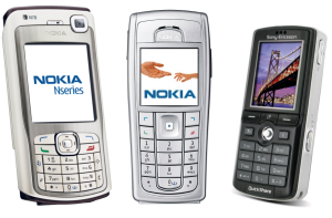 nejlepší mobily 2006