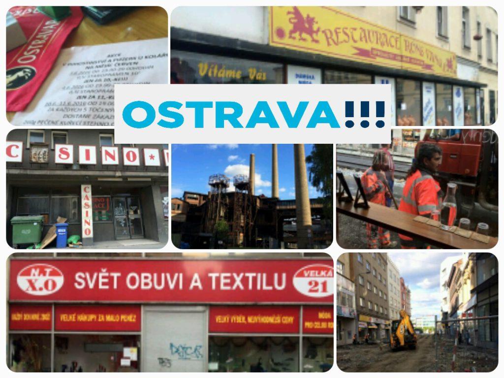 Největší poklady Ostravy. (Za obrázky do koláže vděčím domorodci - Kubovi Radinovi.)