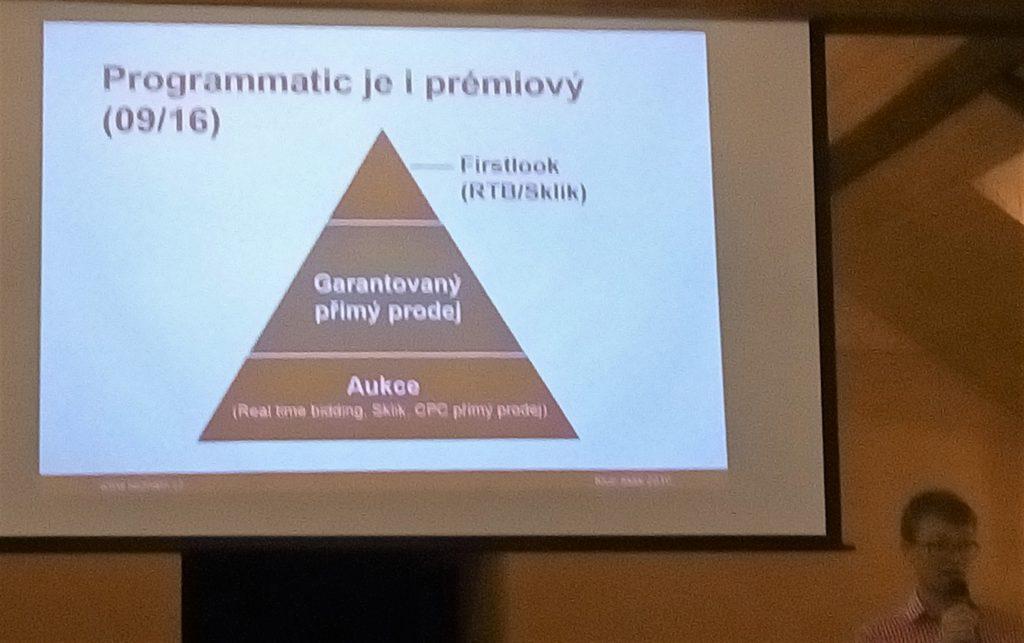 Rozhodovací pyramida pro display reklamu na Seznamu. Programatic se díky First-looku dostává na ty nejlepší cookies.