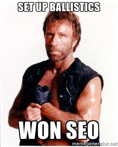 Chuck Norris je také jediným, kdo vyhrál v SEO. (Zdroj: Memegenerator.net)