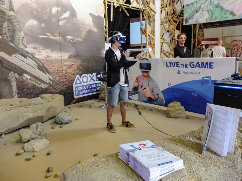PlayStation VR na Czech VR Festu