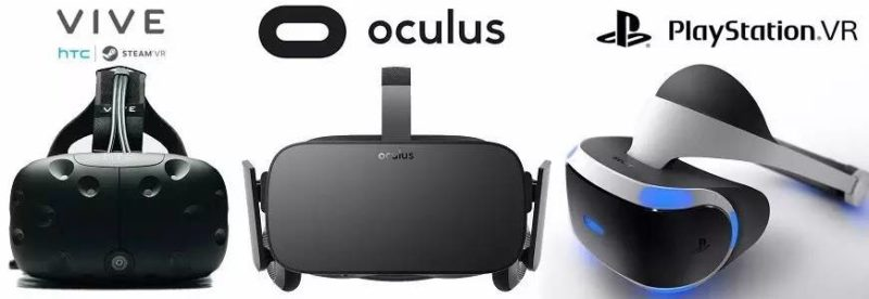 main VR headsets
