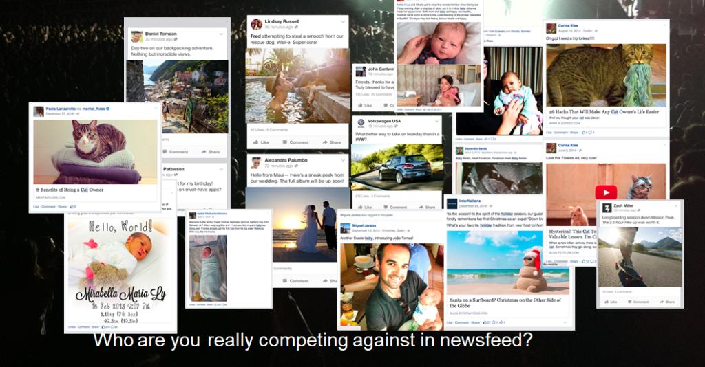 konkurence v newsfeedu